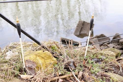 Trening i zawody to była znakomita okazja do przetestowania systemu mocowania wagglerów Rive