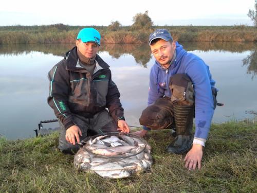 Na czwartkowym treningu nałowiliśmy się ryb do syta!