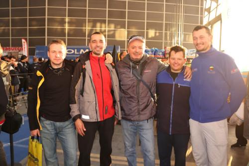 Team Polonia w towarzystwie Glauco Tubertini